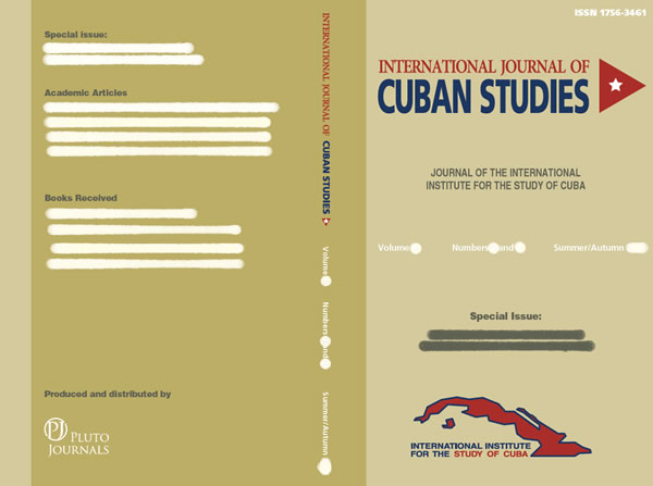 IISC - International Journal of Cuba Studies - Cover Image